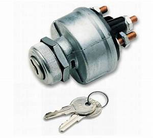 Ignition Switch E Heavy Duty 4 Position Keyed Aluminum