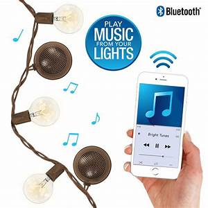 Bright Tunes String Lights New Nib Bright Tunes Patio String Lights With Built In