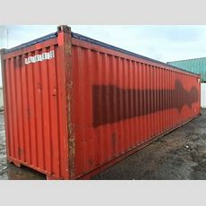 40 Foot Open Top Shipping Containers  Used  Container