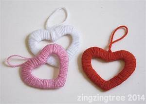 Simply Stylish Easy Wool Heart Wreath Decorations | Heart ...