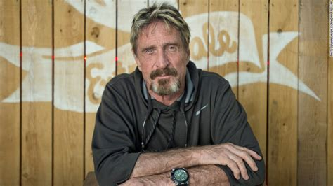John Mcafee Escaped Police And Lost His Fortune Now He's