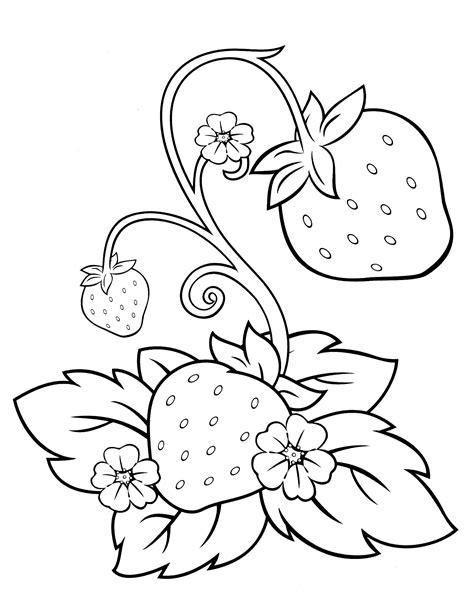 strawberry shortcake coloring page jedlo strawberry