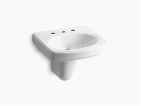 Pinoir Wall-mount Sink With 8-inch Centers