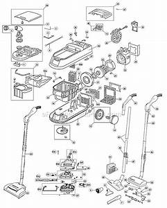 Oreck Dtx1200 Parts List And Diagram   Ereplacementparts Com