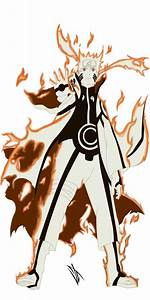 Naruto: Sage of Six Paths Mode by Johnny-Wolf on DeviantArt