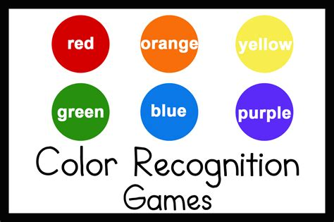 teaching colors 3 for teaching color recognition
