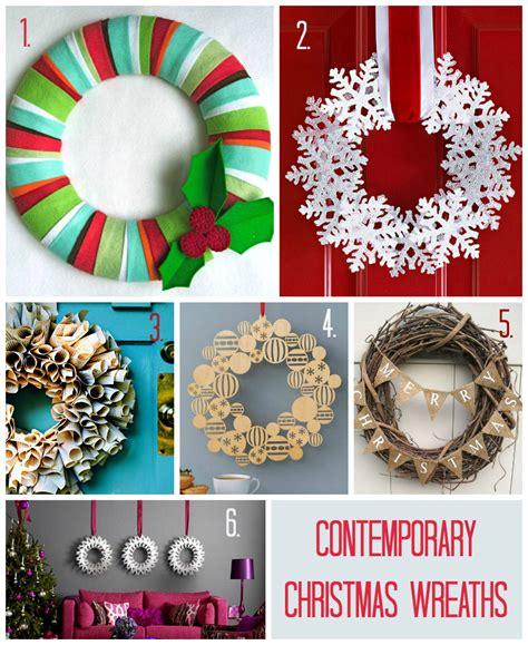 contemporary christmas wreaths christmas home top contemporary christmas wreaths love chic living