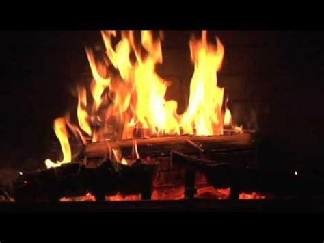 crackling fire screensaver auto looping options