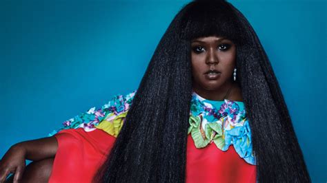 Close Up Singer Lizzo Serves Blowout Goddess Vibes For