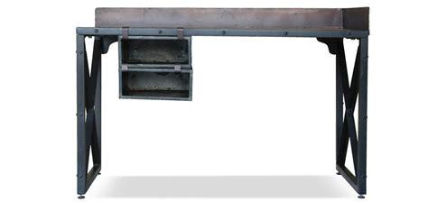 bureau industriel pas cher bureau vintage industriel acier pas cher