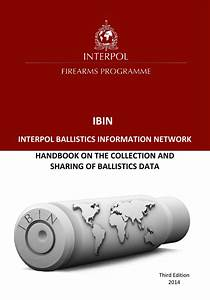 Interpol Handbook On The Collection And Sharing Of