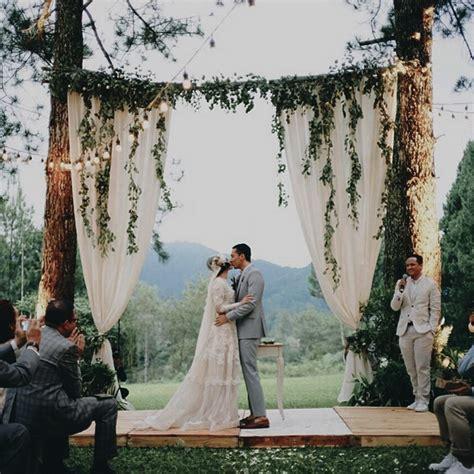 inspirasi pernikahan wedding outdoor andien  ippe