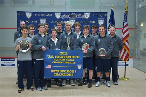 squash middle  high school leagues
