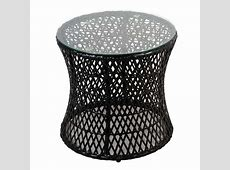 Greenfingers Lima Rattan 2 Chair 50cm Round Lounge Set on Sale
