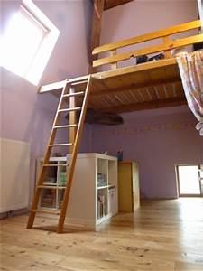 Faire Une Mezzanine : construire une mezzanine construire un lit mezzanine ~ Melissatoandfro.com Idées de Décoration