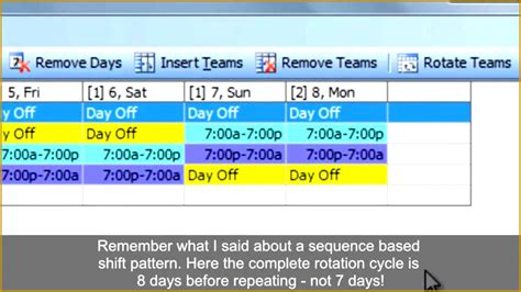 12 hr shift schedule formats 4 on 3 off pivid wednesday12 hr shift schedule formats 4 on 3 off pivid wednesday / date networkdays function for power … 3 Rotating Shift Work Schedule Template   FabTemplatez