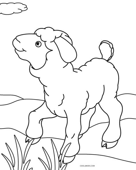 Coloring Kambing by Free Printable Sheep Coloring Pages For Cool2bkids