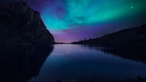 aurora borealis atmosphere wallpapers hd wallpapers id