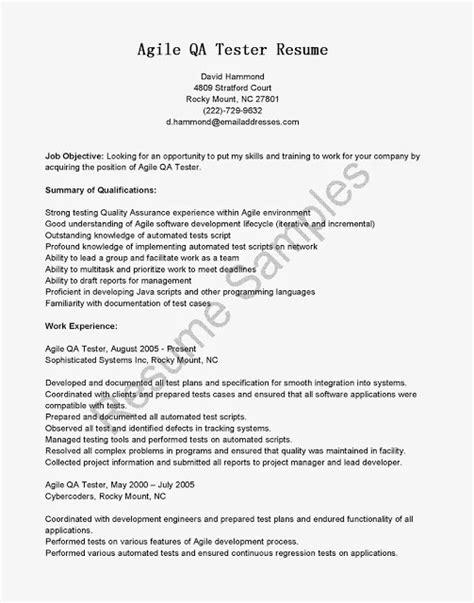 Agile Development Resume by Agile Development Methodology Resume
