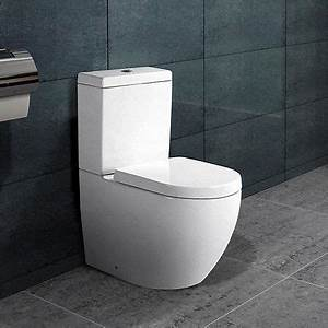 Klo Mit Spülkasten : randlos design stand wc kombination inkl sp lkasten ~ Articles-book.com Haus und Dekorationen