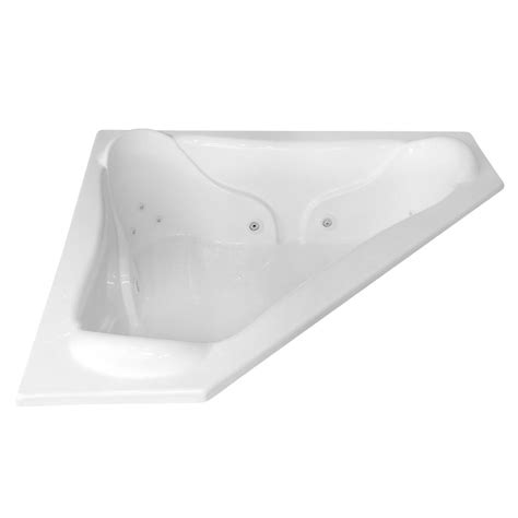 Jetted Bathtub by Carver Tubs Nw7272 72 Quot X 72 Quot Corner Whirlpool Jetted