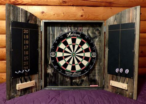 Dartboard Cabinets by Dartboard Cabinet From Pallets