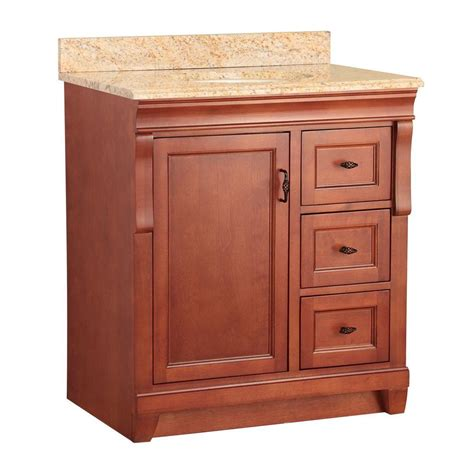 foremost naples 31 in w x 22 in d vanity in warm