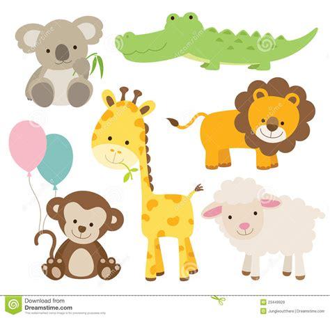 baby cartoon animals clipart   cliparts
