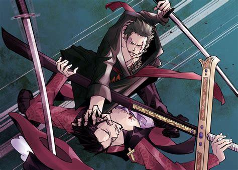 Gin Ichimaru Vs Zoro Roronoa And Hawkeye Mihawk