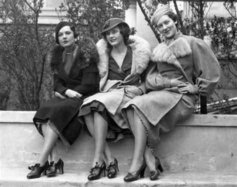Brown Pumps, 1933  Photos  1930s Fashion Models Ny