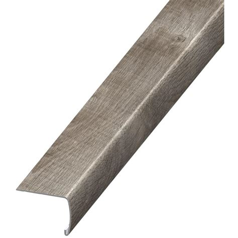 bullnose carpet stair treads home depot home decorators collection stony oak grey 7 mm x 2