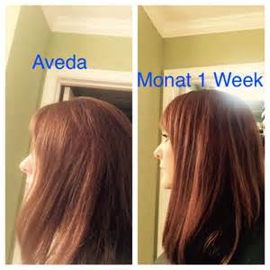 Monat Hair Products Before and After