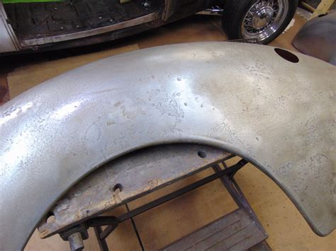 ford pr steel rear fenders  hamb