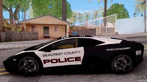 Lamborghini Reventon High Speed Police For Gta San Andreas