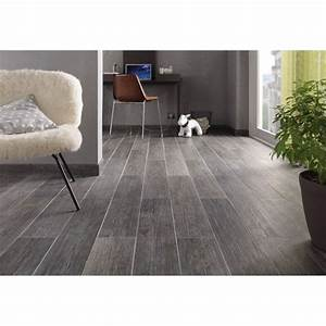 carrelage interieur naturalia en gres cerame anthracite With carrelage interieur parquet
