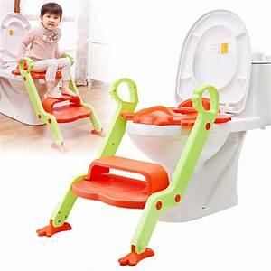 Toilette Für Kinder : baby kleinkind toilette training potty sitz 2 stufenleiter trainer f r kind ebay ~ Markanthonyermac.com Haus und Dekorationen