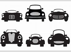 Classic Car Silhouette Download Free Vector Art, Stock