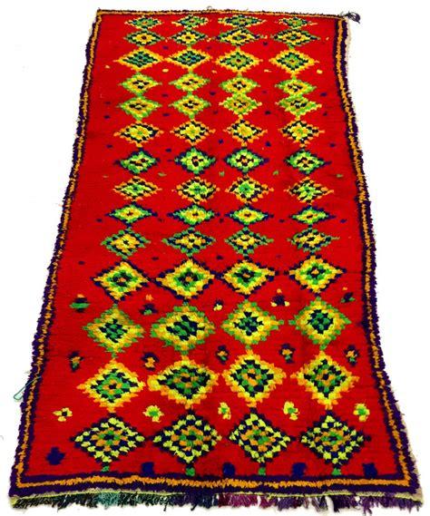 moroccan boucherouite rug moroccan berber rug boucherouite 240 x 130 cm