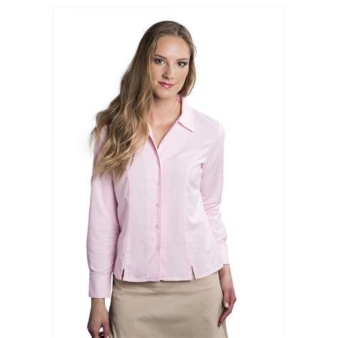 blouson blouse 39 s sleeve oxford blouses blouse no bra