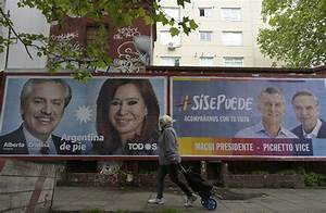 Cierra Campa U00f1a Electoral Argentina Con Fern U00e1ndez Favorito Y Macri A La Expectativa  U2013 Diario