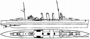 Hms Kent 1943 Heavy Cruiser Plans
