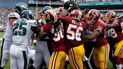 Eagles Redskins Brawl Beat Philadelphia Despite 6abc
