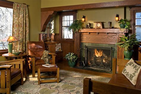 Interior Color Palettes for Arts & Crafts Homes   Design