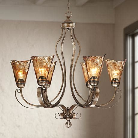 franklin iron franklin iron works scroll 31 1 2 quot wide chandelier
