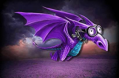 Dragon Purple Gifs Fantasy Glitter Graphics Copy