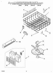 Parts For Whirlpool Gu980scgq2  Lower Dishrack Parts