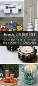 Beautiful, Diy, Candle, Holders