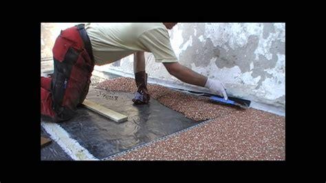 steinteppich steinchenboden kieselbeschichtung