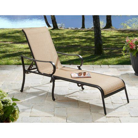 walmart chaise lounge better homes and gardens warrens aluminum chaise lounge