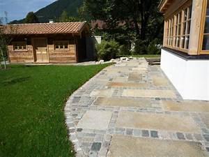 Platten Für Einfahrt : pflastersteine f r terrasse pflastersteine natursteine wundersch ne ideen f r hof alle ~ Sanjose-hotels-ca.com Haus und Dekorationen